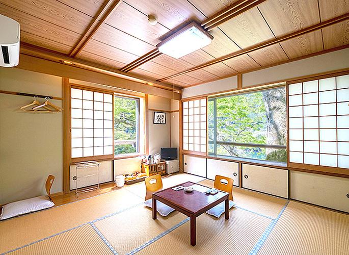 宿泊用の客室は全7室あります。